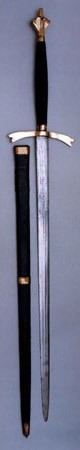 sempill sword with scabbard
