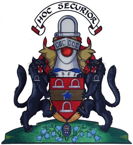 grierson of lag coat of arms