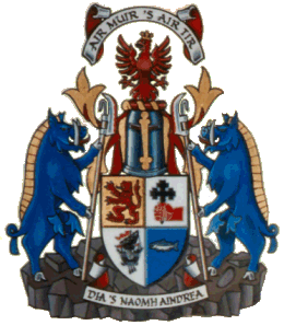 macdonald of keppoch coat of arms