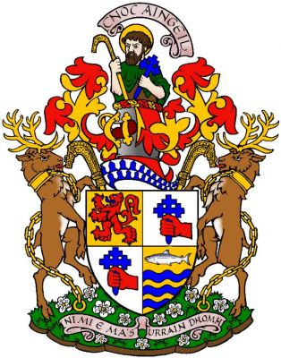 livingstone of bachuil coat of arms