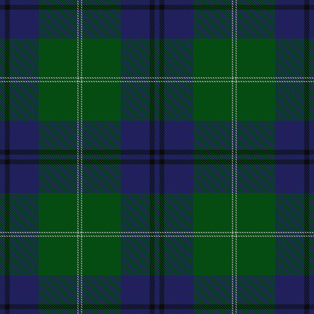 Oliphant and Melville tartan (from Vestiarium Scoticum)