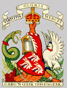 robertson of struan coat of arms
